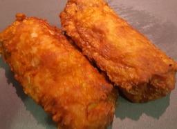 gebakken vis-loempia