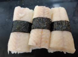 sushi blokje met palingfilet