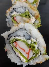 sushi met surimi rolletje